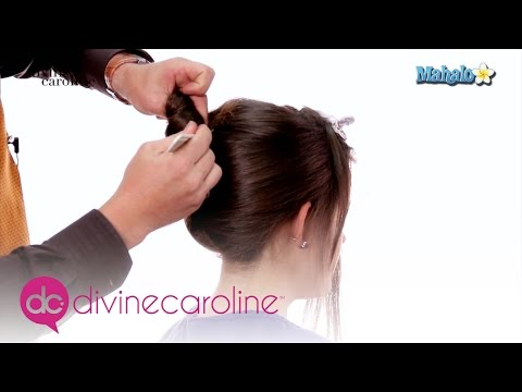 How to Create a Wedding Updo for Medium Length Hair | MORE