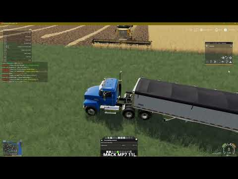 Tutorial On Autodrive And Courseplay On Harvesting Fields