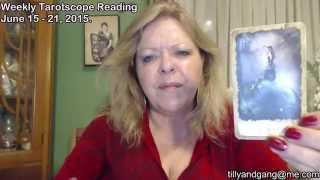 Sagittarius Weekly Tarot Scope Reading June 15 to 21 2015