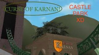 Roblox Gaming: HeideLand Park CURSE OF KARNAN roller coaster Full Ride [POV]