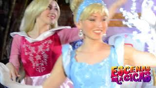 Princesas con Escenas Mágicas