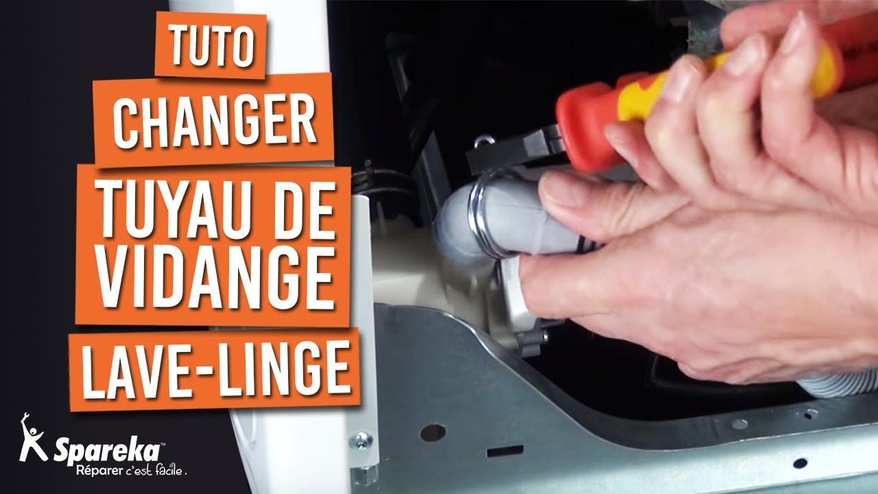 Changer Tuyau De Vidange Lave Linge Youtube