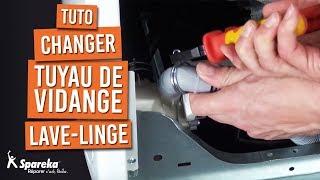 Comment changer le tuyau d'évacuation d'un lave-linge ?