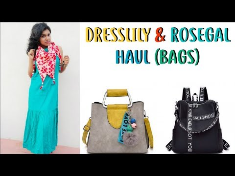 0660bd78a3a Dresslily   Rosegal Shopping Haul - Dresslily.com   Rosegal.com India Haul  Coupon code
