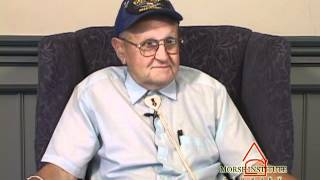 Femia World War II veteran Natick Veterans Oral History Project YouTube sharing