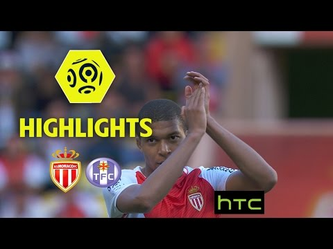 AS Monaco - Toulouse FC (3-1) - Highlights - (ASM - TFC) / 2016-17