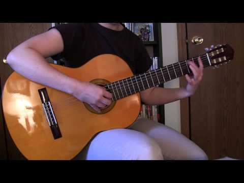The Legend of Zelda - Song of Storms Classical Guitar