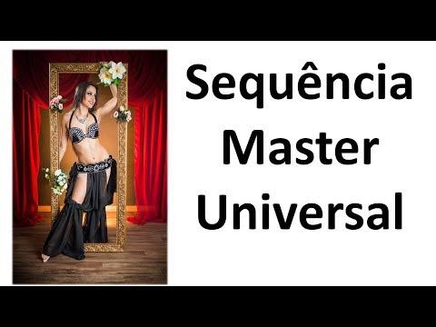 Sequência Master Apresentada na  - Dança do Ventre Online - Patrícia Cavalcante
