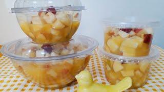 Receita de Salada de Frutas – Faça e Venda