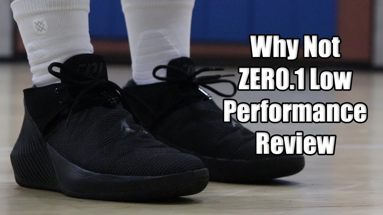 38de418d4d21ba Russell Westbrook Jordan Why Not ZERO.1 Low Performance Review - YouTube