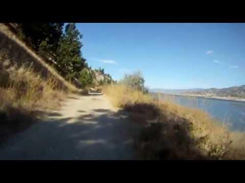 Biking Penticton British Columbia - Skaha Lake