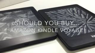 Should You Buy The Amazon Kindle Voyage? Compared to Paperwhite! Full Review!