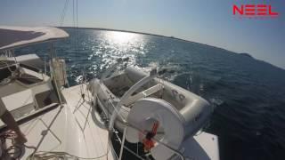 NEEL 45 under sail in Mooloolaba