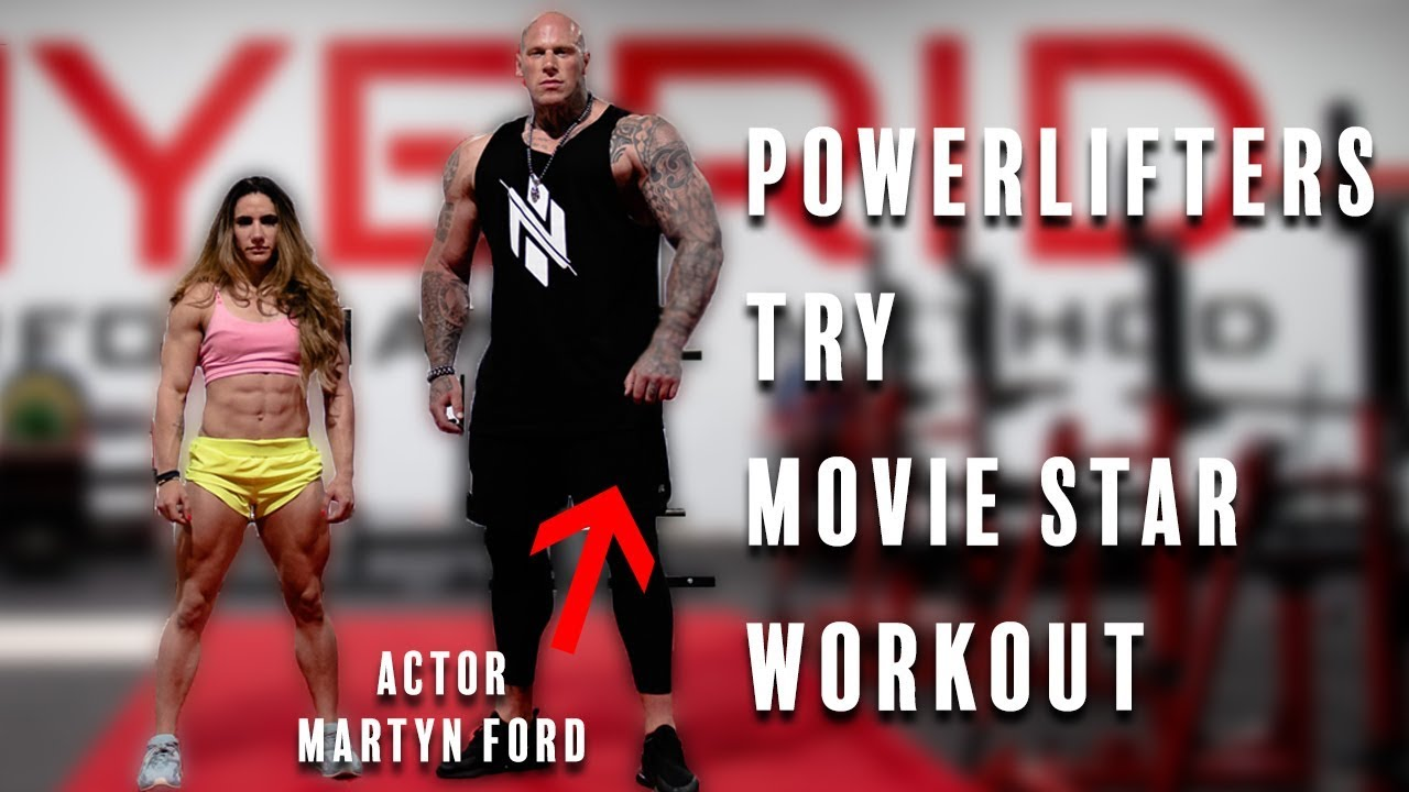 Powerlifters Try Movie Star Workout | Ft. Martyn Ford