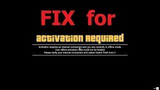 GTA 5 PC - ACTIVATION REQUIRED Error Fix