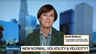 Markets Are Supposed to be Volatile, Causeway's Ketterer Says