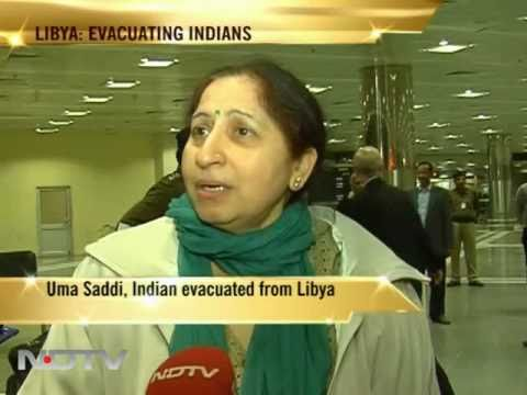 More Indians arrive from Libya