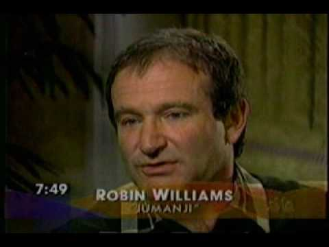 Robin Williams Jumanji NBC Today Show interview 1995