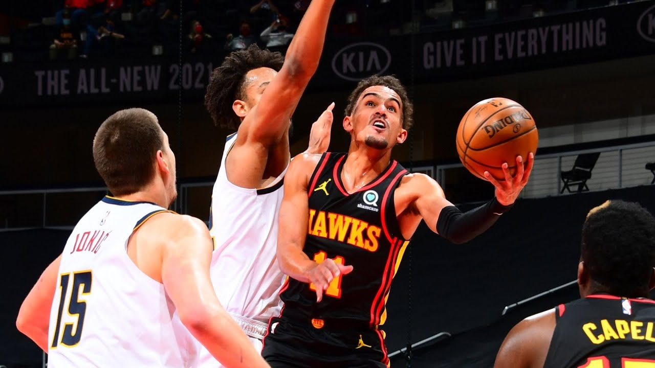 Trae Young 35 Points 15 Assists vs Nuggets! 2020-21 NBA Season