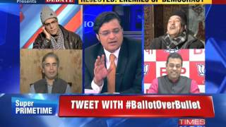 The Newshour Debate: Jammu and Kashmir Chooses Democracy - Part 2 (25th Nov 2014)