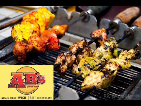 AB's -Absolute Barbecues   Fried Ice Cream   No-1 Buffet Place In Chennai