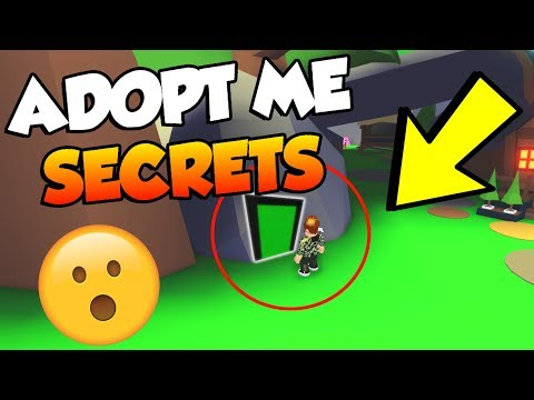 *SECRET* Areas and Places In Roblox ADOPT ME (CRAZY)