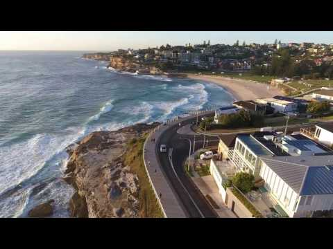 Bondi to Bronte at 6AM in the morning.
