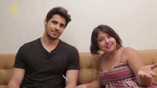 Sidharth Malhotra Tells Us About All His