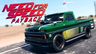 Need for Speed Payback UPDATE PL - CHEVROLET C10 HOLTZMANA - ZAGINIONE AUTA