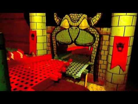 K'nex Bowser's Castle Wii - YouTube
