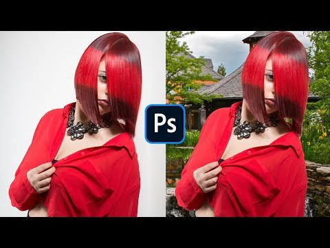 20 SEC Remove Background | Photoshop Video Tutorial | Bandhan Studio | Hindi/Urdu thumbnail