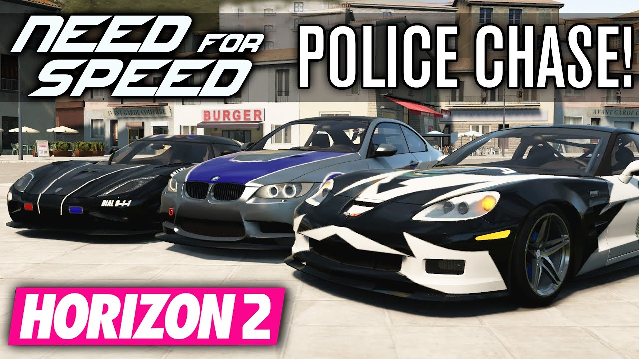 need for speed cops vs racers forza horizon 2 youtube. Black Bedroom Furniture Sets. Home Design Ideas