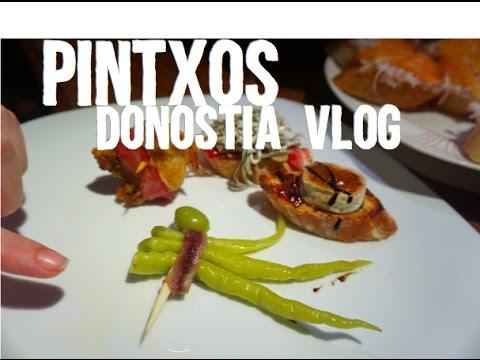 Pintxos in San Sebastián-Donostia   Basque Country VLOG