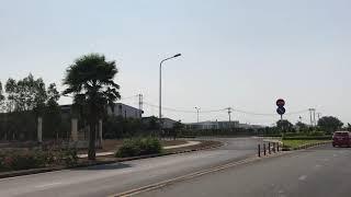 Quay khu công nghiệp giang điền đang xây dựng