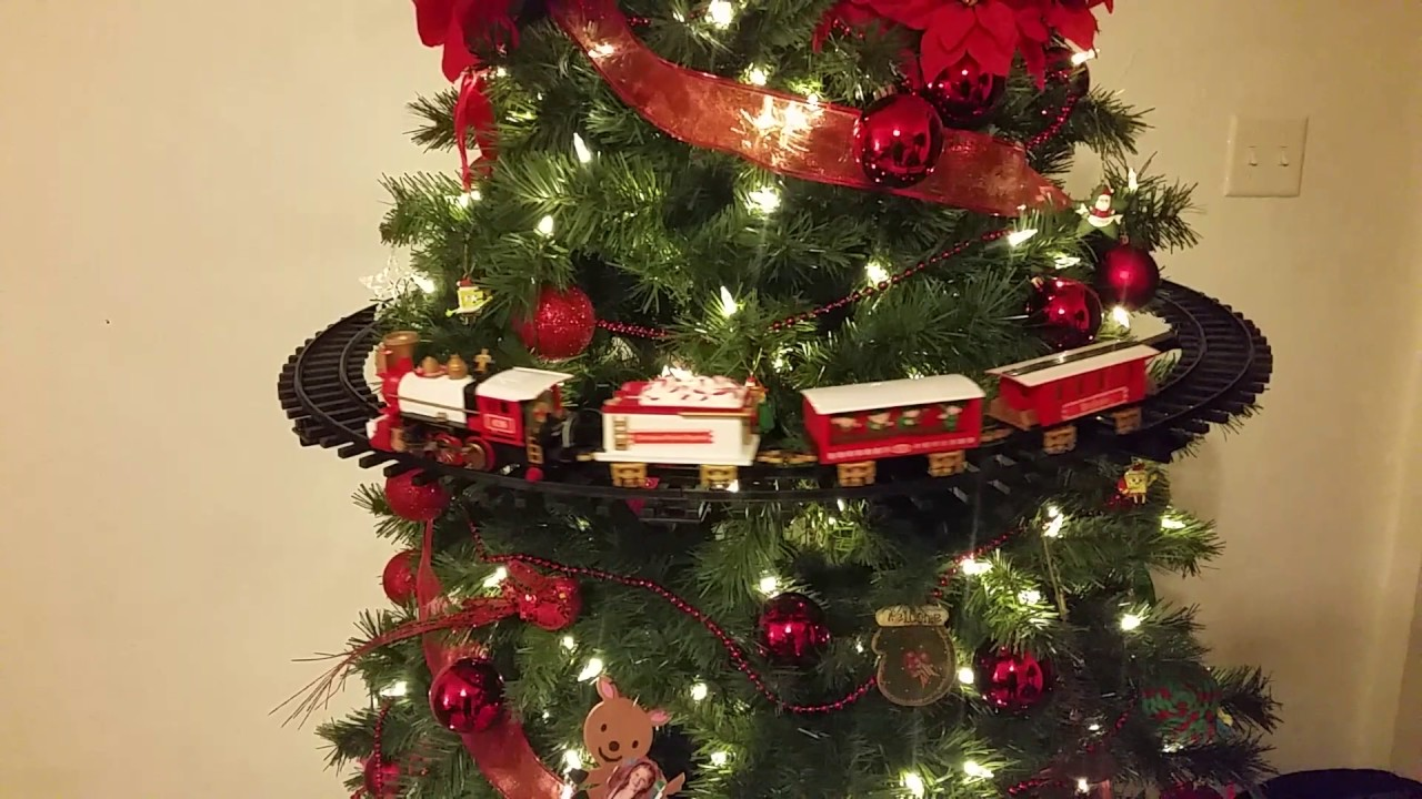 Christmas Tree Train.Xmas Tree Train From Walmart