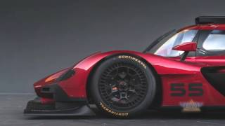 Mazda RT24 P Race Car