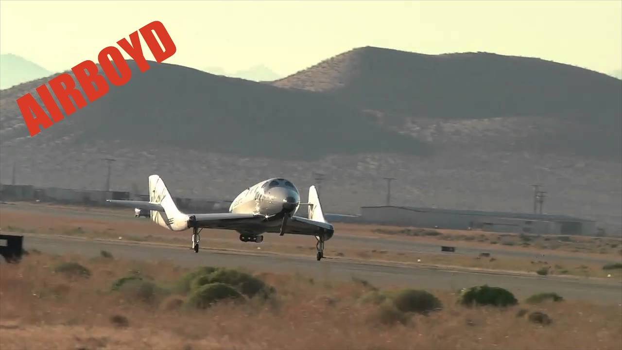 Virgin Galactic VSS Enterprise Manned Free Flight Test