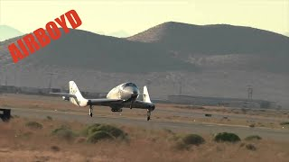 Virgin Galactic VSS Enterprise Manned Free Flight Test