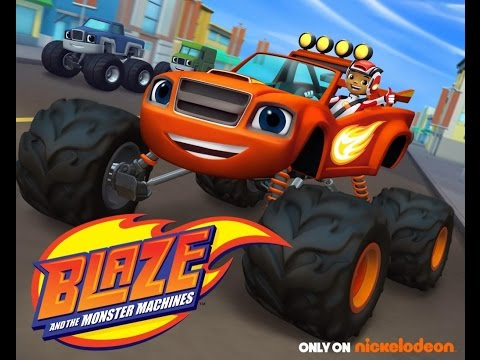 Blaze and the Monster Machines(By Nickelodeon)Official GamePlay Traier