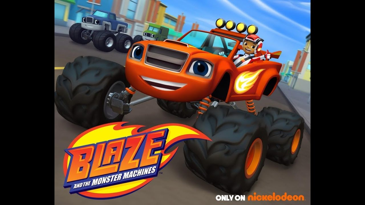 This is a picture of Exhilarating Blaze and the Monster Machines Images