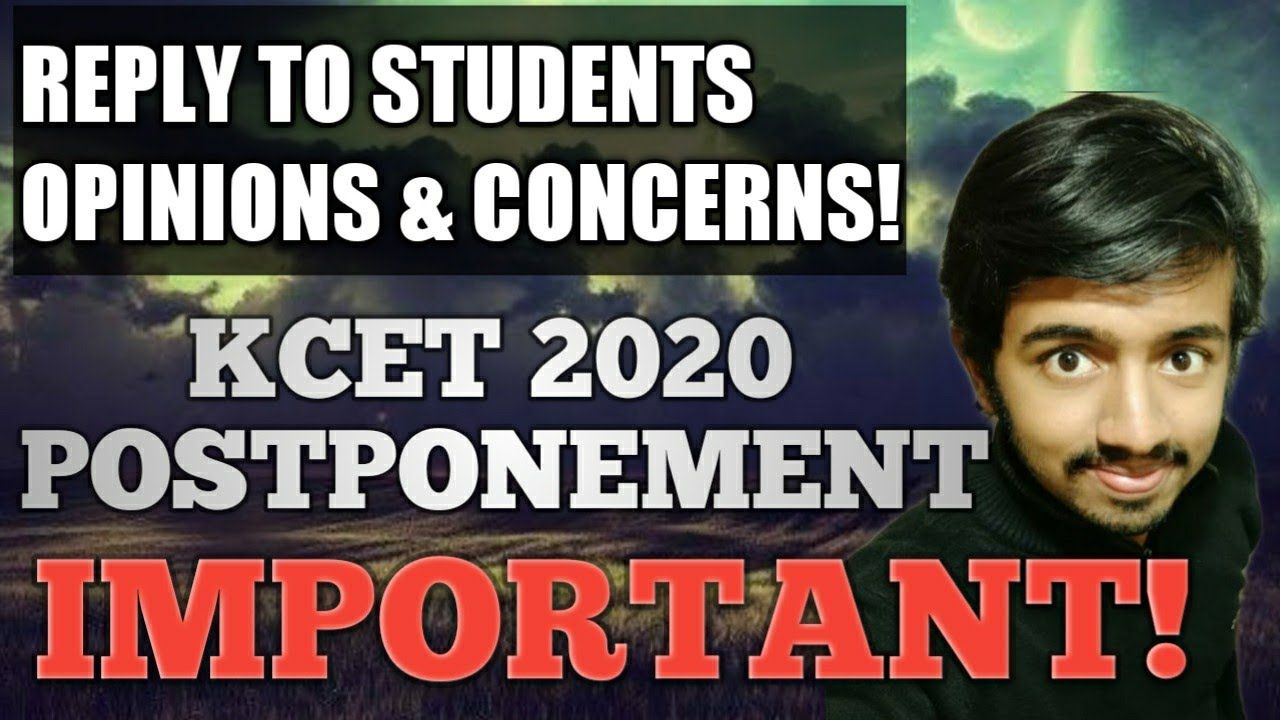 KCET 2020 Postponement   Concerns and Opinions   #262🔥🤓😎