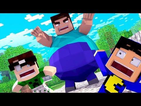 Minecraft: O GIGANTE QUER NOS COMER! (FUJA DO GORDÃO!)