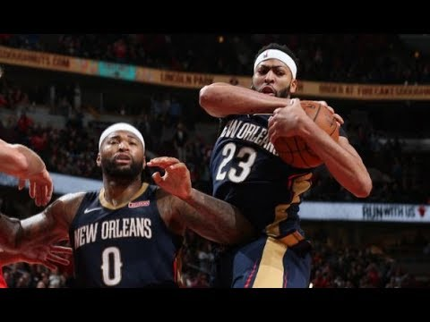 DeMarcus Cousins and Anthony Davis Lead Pelicans to OT Win vs. Bulls | November 4, 2017