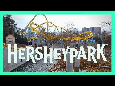 Hersheypark Construction Update | April 2019 | Springtime in the park