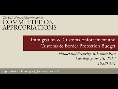 Hearing: Customs and Border Protection & Immigration and Cus