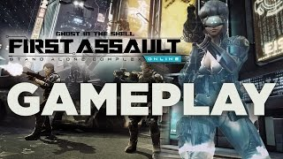 Ghost in the Shell: Stand Alone Complex - First Assault Gameplay
