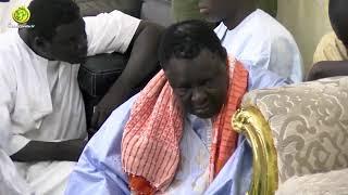Ziarra de la famille de Mame Cheikh Anta Mbacké auprès du Khalife Général des Mourides