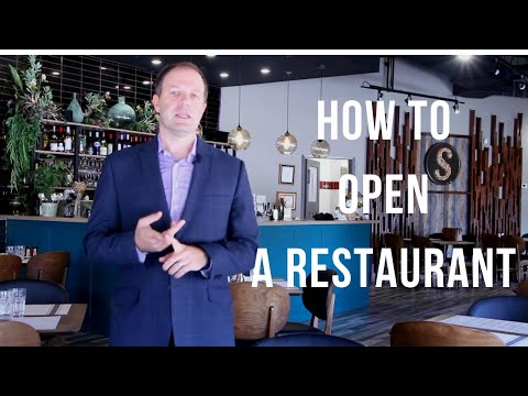 How to open a restaurant in Canada