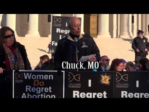 Chuck's 2018 March for Life Testimony