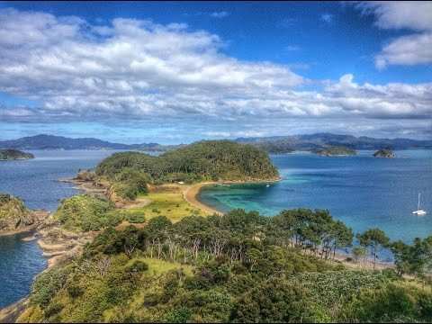 SAILING the BAY OF ISLANDS - Impi sails NEW ZEALAND
